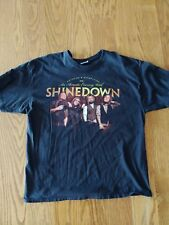 Shinedown Hard To Find 2010 Anything & Everything Tour T Shirt XXL