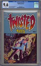 Twisted Tales #1 CGC 9.6 NM+ Wp Pacific Comics 1982 Richard Corben Cover & Art