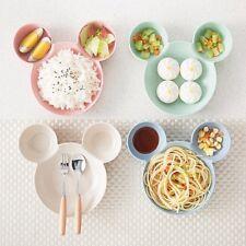 Children Dinner Plate Kids Cartoon Small Chips Snacks Dishware Dishes
