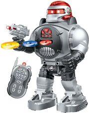 RC Robot brotes incendios Discos frisbees WALKS diapositivas baila música de control remoto