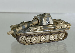 Vintage Micro Machines Military German Panther Tank Tan Camo Black Cross LGTI
