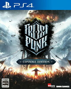 Frostpunk Sony Playstation 4 PS4 Video Games From Japan F/S Tracking NEW