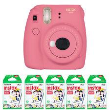 Fujifilm instax mini 9 Instant Film Camera, Flamingo Pink + 50 Prints