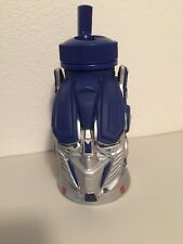 Universal Studios Transformers Optimus Prime Drink Water Bottle Blue NO Straw
