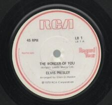 Elvis Presley Promo Single Vinyl Records