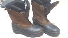 BANFF 5 Mens Boots  Leather / Suede  Thinsulate Insulation Zipper Snow Size 7