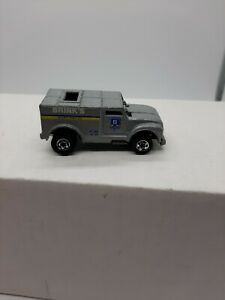 1970 HOT WHEELS BRINKS Security FUNNY MONEY Armor Truck Mattel NICE!!
