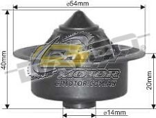 DAYCO Thermostat(High Flow LowTempWindsor)F100 74-77 4.9L OHV Carb 302 CLEVELAND