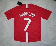 Manchester United 2007/08 Champions League Final - RONALDO 7-  Size Large