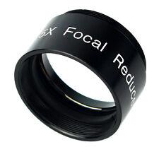 """1,25 """" 0,5 x RIDUTTORE FOCALE Telescopio Oculare Plossl PURO Optical Lens completamente in metallo"""