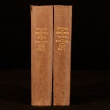1847 2Vol Committee of Council of Education Minutes With Appendices Maps