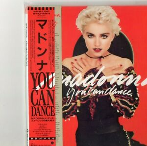 "Madonna rare cd digisleeve  from Japan "" you can dance  """