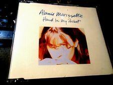 Hand In My Pocket + 2  EP by Alanis Morissette (CD 1995 WEA/Maverick) UK IMPORT