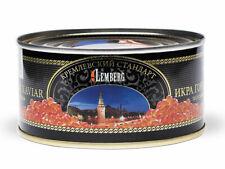 300g ( 1 Kg/49 ) Buckel Lachskaviar Kaviar Wildfang Salmon Caviar Gorbuscha