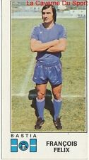 N°038 FRANCOIS FELIX # SEC.BASTIA STICKER PANINI FOOTBALL 1977