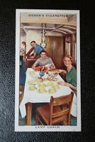 Great Western Railway    Camping  Coach    Original Vintage Card