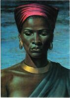 Zulu Girl Vladimir Tretchikoff painting Art  A0 A1 A2 A3 A4 photo poster