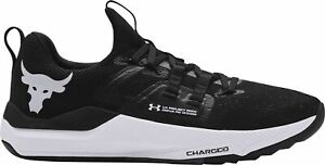 Under Armour UA Project Rock BSR Charged Training Shoes Black 3023006-002 NEW 🔥