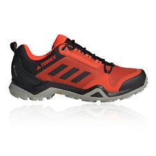 adidas Mens Terrex AX3 GORE-TEX Walking Shoes - Red Sports Outdoors Waterproof