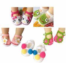 5 Pairs Newborn Baby Infant Girls Flower Bow Tie Crochet Knit Socks Crib Shoes