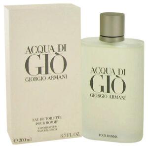 Georgio Armani Acqua Di Gio Cologne 6.7 oz Eau De Toilette Spray (Original)