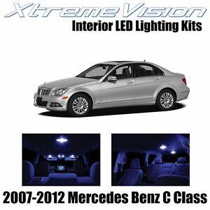 XtremeVision Interior LED for Mercedes C Class 2007-2012 (18 PCS) Blue
