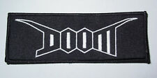 Doom - Logo embroidered patch (crust punk d-beat)