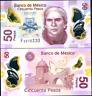 Mexico 50 Pesos 16.01. 2017 Polymer W Série UNC P 123A W