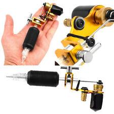 Professional Cylinder Rotary Motor Golden Tattoo Gun Machine Shader Liner Kit