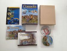 Cossacks 1 European Wars + addon Art of war PC Big Box grosse boite carton FR