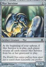 MRM FRENCH Valet myr (Myr Servitor) MTG magic 5DN