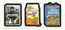 2011 TOPPS WACKY PACKAGES ANS8 COMPLETE 55 STICKER SET!! CLEVER AND CRAZY!!
