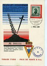 Luxemburg Souvenir Maquis 1958