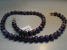 Charoite beads. The length is 450mm, 18 inch.