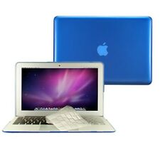 "2 in1 Crystal ROYAL BLUE Case for Macbook AIR 11"" A1370 + TPU Keyboard Cover"