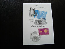 FRANCE - carte 3 4/5/1969 (20eme anniv conseil de l europe) (cy19) french