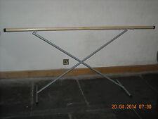 2M Portable Ballet Barre Adjustable Folding Dance Exercise Bar PINK BLACK SILVER