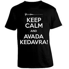 Maglia HARRY POTTER Keep Calm and Avada Kedavra Magia Bacchetta hogwarts