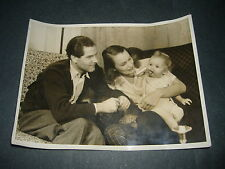 1940 BEAUTIFUL PHOTO UFA ERNST V.KLIPSTEIN LOTTE KOCH AND THEIR SON