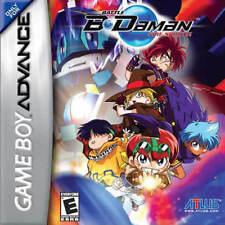 Battle B-Daman Fire Spirits GBA New Game Boy Advance