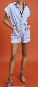 NWT ZARA Denim Jumpsuit, Blue Jeans Romper, Size S ,M