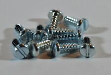 HORNBY Spares - S1192 X 10 Coupling & Chassis Screws - Slotted Type - NEW.