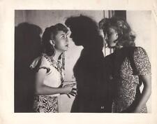 """Carla De Poggio/ Giuletta Masina """"Without Pity"""" 1948 Vintage Still"""