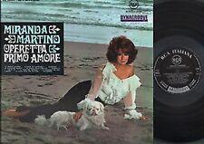 33 LP Miranda Martino Operetta Primo Amore  RCA FLS 30055 ITALY 1967 GATEFOLD