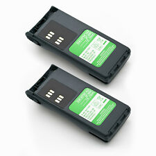 2x Pmnn4018 2-Way Radio Battery For Motorola P040 P080 Gp308 Pro3150 Cp250 Cp450