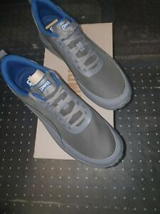 Camper Canica K100406-002 Mens Gray Nylon Lace Up Euro Sneakers Shoes 44/US11