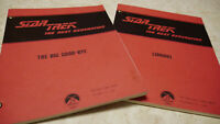 Star Trek: The Next Generation - 2 Original Scripts + Roddenberry Business Card