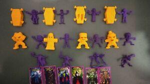 Collection 12 Figuras Paleta Dracula Monstruos Colombia 2019  Mini cards
