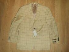 Completi e abiti sartoriali da uomo beige doppia lana