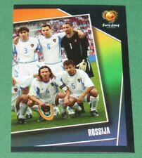 N°50 EQUIPE TEAM ROSSIJA RUSSIE  PANINI FOOTBALL UEFA EURO 2004 PORTUGAL